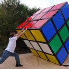 世界一巨大なルービックキューブを作成!!