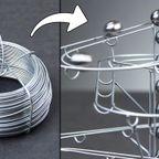 針金で作る!鉄球のコースターが魅力的!!