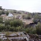 【驚愕】海辺近くの家が、陸地ごと海に流される・・・