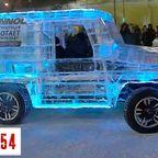 ロシアで、ボディが氷でできた自動車が完成!!