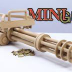 ダンボール紙で作ったガトリング砲が凄い!!