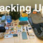 アウトドアのトレッキングの荷物のパッキングが一目で分かる動画!!