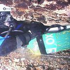 山の中の水中洞窟の探索が恐ろしすぎる!!