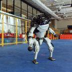 二本足で華麗にステップしてダンスするロボットが凄い!!