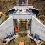 4日間で鉄道の陸橋を作り変えてしまう作業が凄い!!