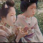 今から約90年前の日本のカラー映像がノスタルジックすぎる!!