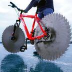 氷でも絶対に滑らないタイヤの自転車を作る!!