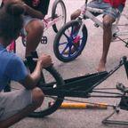 自力でドリフトできる、ドリフト仕様の自転車が楽しそう!!
