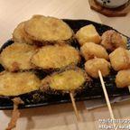 ヒナタの野菜串揚げはどれも1本20バーツ!でうまい! in アソーク