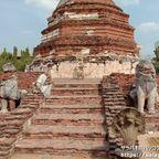 ワット・タンミカラートは見所が多い穴場的な仏教寺院遺跡 in アユタヤ歴史公園