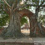 ワット・プラ・ガームはインスタ映えする扉が有名な遺跡 in アユタヤ