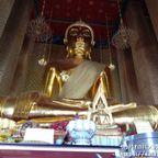 ワット・カンラヤナミットはバンコク一大きい仏像がある寺院 in トンブリー区