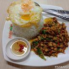 チュラロンコン大学の飲食店豊富なフードコート in サイアム