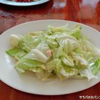 ライ・スウィットのキャベツ炒めは自然の甘みがする絶品料理! in ペッチャブーン県