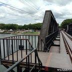 クウェー川鉄橋は映画『戦場をかける橋』で有名な橋 in カンチャナブリ