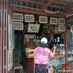 ポーヤ―・カフェは3基の仏塔近くにあるカフェ in カンチャナブリ