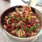 楽源麺館の水煮猪肉片は中毒性が高い激辛料理 in ホワイクワン