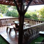 Namiは運河沿いの広大な庭の中にあるおすすめのカフェ in ノンタブリー県