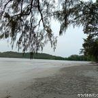 クロンソン・ビーチはリゾート化されていない自然豊かなロングビーチ in ヤオヤイ島