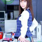 亜希菜 遊んでそうなOLサンの制服姿に萌えながらオフィスでファックしまくりましたぁ~!!