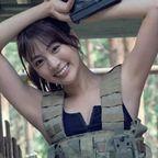 志田友美 この女、危険につき…サバゲーコスプレ。
