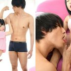 超小柄なオトコの娘が、身長差35cmのイケメンAV男優松本ケンとSEX!