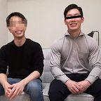 若パパ設定の純輝(メンズラッシュRYUJI)が、素人ゲイ相手にノリノリホモSEXw