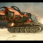 ジェットエンジンで消化する世界最強の消防車がパワフルでカッコ良すぎる!!