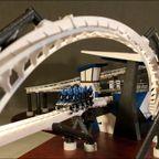 3Dプリンターで作った、ジェットコースターの模型の完成度が凄い!!