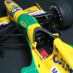 TAMIYA 1/20 Benetton Ford B192 No.19 M.Schumacher