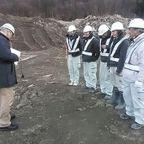 2014年1月31日中国人実習生の建機技能試験