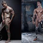 戦争で脚を失った兵士たちの全裸写真が、逞しくて美しくて感動的!