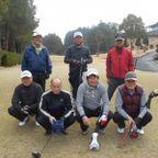 42会ゴルフコンペ 2月