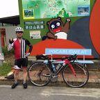 20120712茶臼山登坂ポタリング