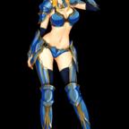 ビキニアーマー女戦士