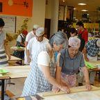 8月三井アウトレットそばうち教室