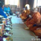タイ人の建築1周年記念のセレモニーに参加してきた in シーサケート県