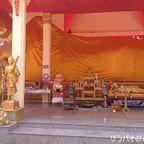 プラチャーンニミ寺の巨大寝釈迦像 in シーサケート県