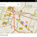 タイでおすすめのレストランと観光スポットの地図