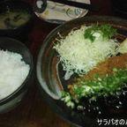 かつ真で肉厚ジューシーなとんかつを食す in スリウォン