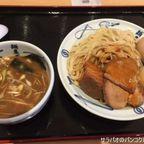 武蔵武骨の魚介だしつけ汁が特徴のつけ麺は大盛無料! in 伊勢丹