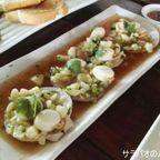 海岸近くの海鮮料理店 ラビアン・タレ― in サムットプラカーン県