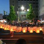 秋田竿灯祭り2016