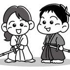 剣道イラスト無料素材(商用不可)