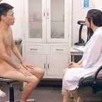 射精にまつわる悩みを相談できる「射精クリニック」に来院する変態ノンケたち
