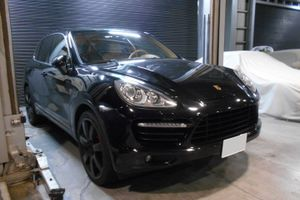 2011y Cayenne Turbo TipS 車検整備PARTⅡ