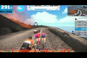 japan zwift morning race 初勝利