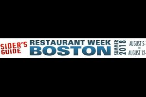 Restaurant week summer 2018