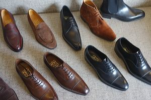 Foster & Son ready-to-wear shoes that are made by their own factory(フォスター&サンの自社工場製既製靴)