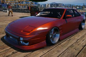 (GTA V) 1994 Nissan 240sx S13 Front End